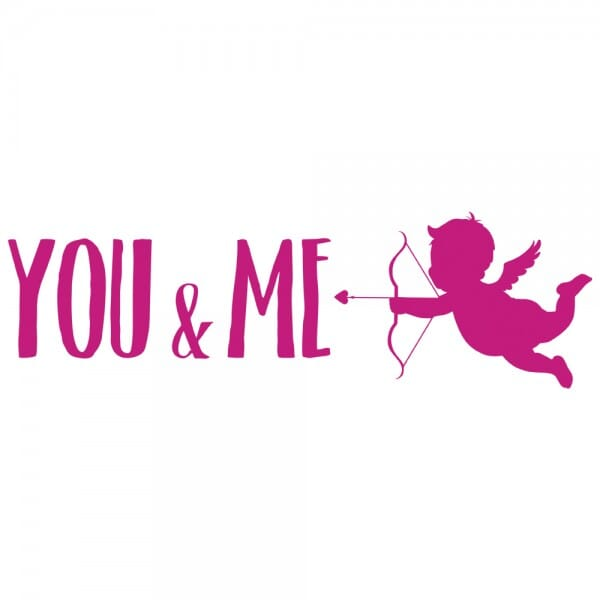 TRODAT IN LOVE Printy 4910 - You&me - rosa