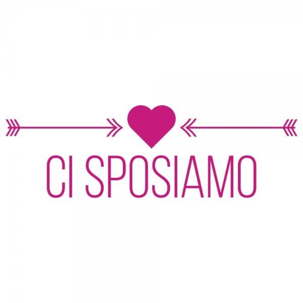 HAPPY DAY Printy 4910 - Ci sposiamo - rosa