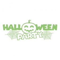 HAPPY HALLOWEEN Printy 4912 - Halloween party - verde