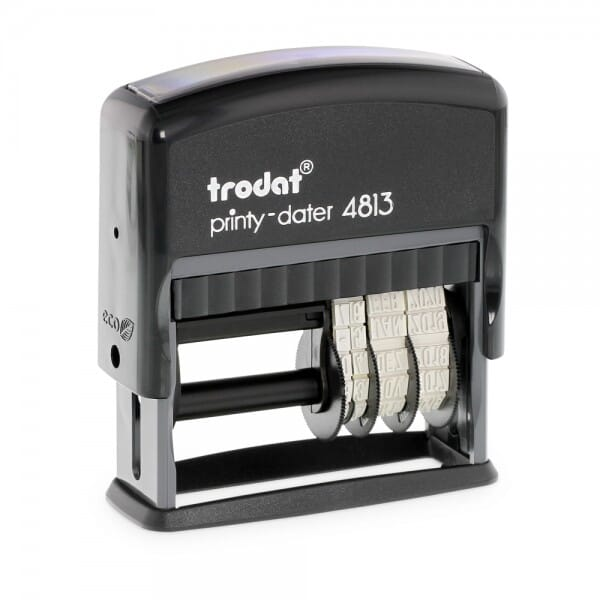 Trodat Printy Datario 4813 26 x 9 mm - 1 o 2 righe