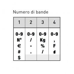 Trodat Classic 1534 Numeratore - 3 mm, 4 colonne