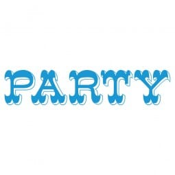 LET'S PARTY Printy 4912 - Party - blu