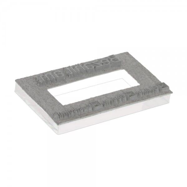 Piastra di Testo per Trodat Professional Doppio Datario 5466/PL 56 x 33 mm - 2+2 righe