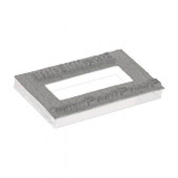Piastra di Testo per Trodat Printy Datario 4750 41 x 24 mm - 1+1 righe