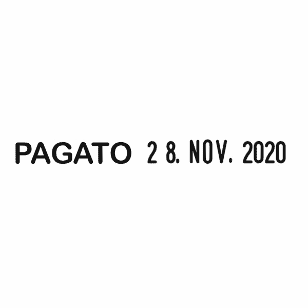 Trodat Printy Datario Multiparola 4817