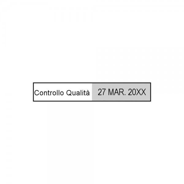 Trodat Printy Datario 4813 26 x 9 mm - 1 o 2 righe