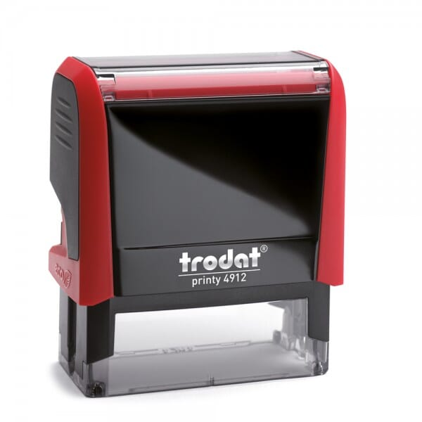 TRODAT IN LOVE Printy 4912 - Happy Valentine's day - rosso