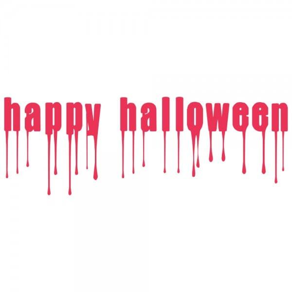 HAPPY HALLOWEEN Printy 4912 - happy halloween - rosso