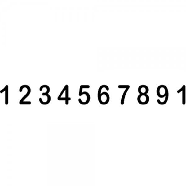Trodat Classic 151810 Numeratore - 18 mm, 10 colonne