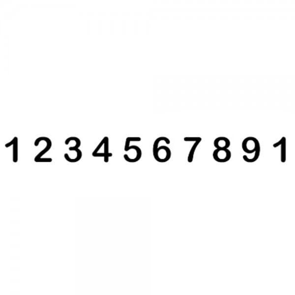 Trodat Classic 151510 Numeratore - 15 mm, 10 colonne