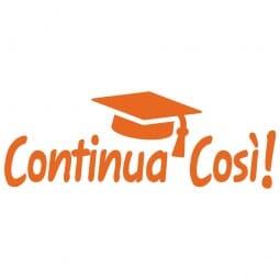 HAPPY SCHOOL Printy 4912 - Continua cosi - arancio