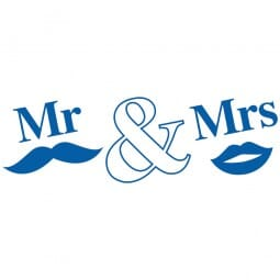 HAPPY DAY Printy 4910 - Mr&Mrs - blu