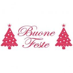 HAPPY CHRISTMAS Printy 4912 - buone feste - rosso