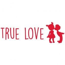 TRODAT IN LOVE Printy 4910 - True love - rosso