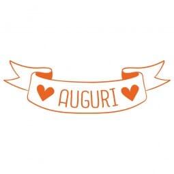 TANTI AUGURI Printy 4910 - auguri - arancio