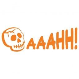 HAPPY HALLOWEEN Printy 4910 - aaahh - arancio