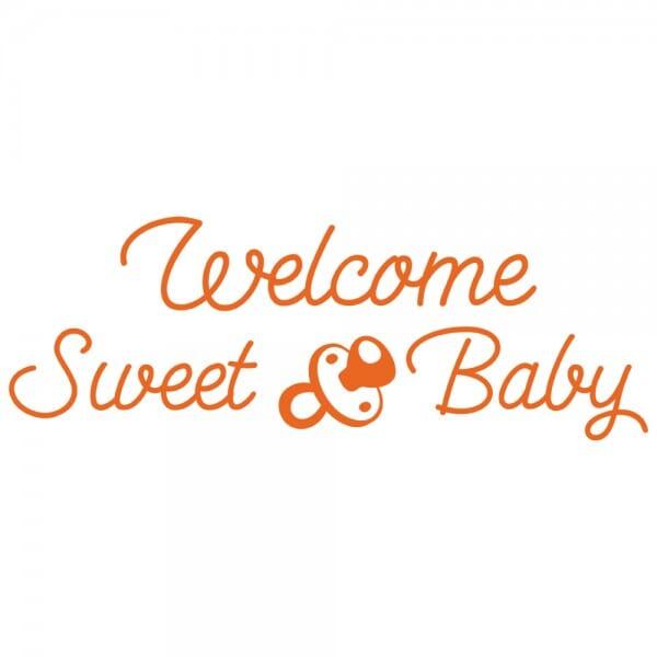 TANTI AUGURI Printy 4912 - Welcome sweet baby - arancio
