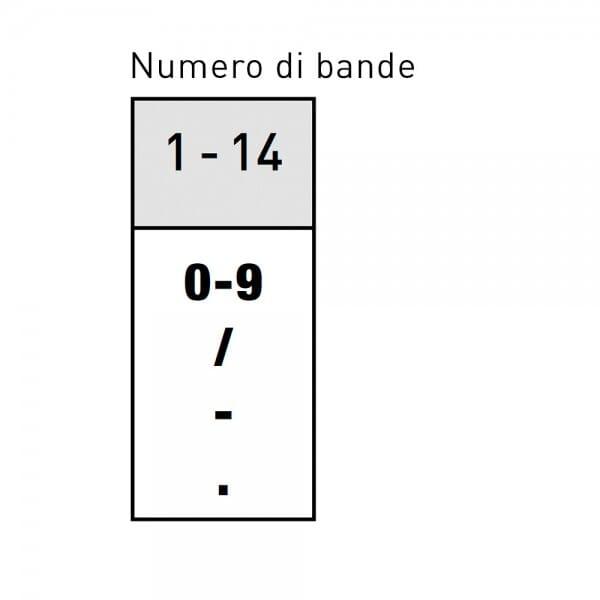 Trodat Classic 15514 Numeratore - 5 mm, 14 colonne