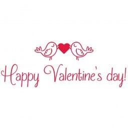 TRODAT IN LOVE Printy 4912 - Happy Valentine's day - rosso