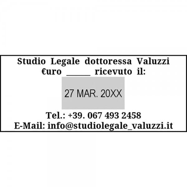 Trodat Printy Datario 4731 70 x 30 mm - 3+3 righe