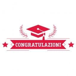 TANTI AUGURI Printy 4912 - Congratulazioni - rosso