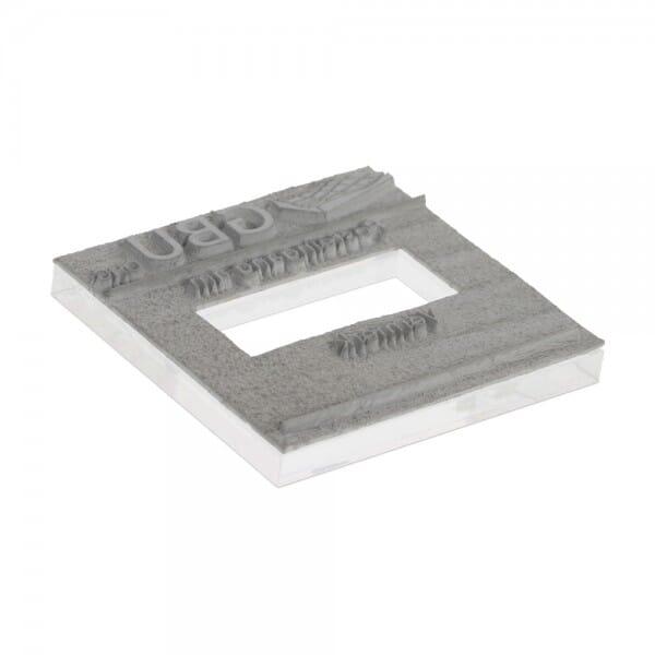 Piastra di Testo per Trodat Printy Datario 4724 40 x 40 mm - 3+3 righe
