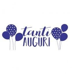 TANTI AUGURI Printy 4912 - Tanti auguri - viola