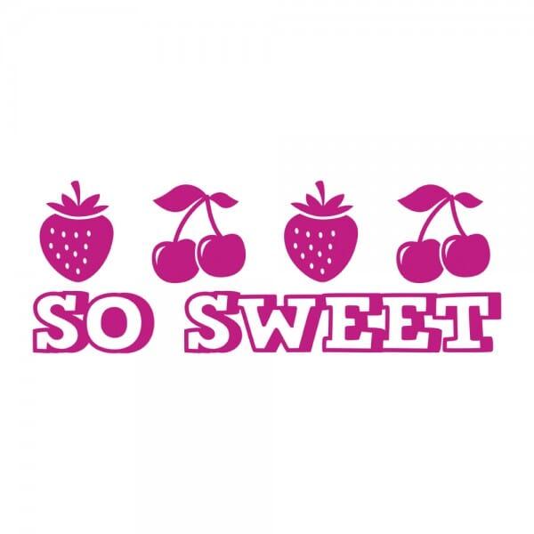 HOMEMADE Printy 4910 - so sweet - rosa