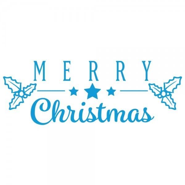 HAPPY CHRISTMAS Printy 4912 - merry christmas - blu
