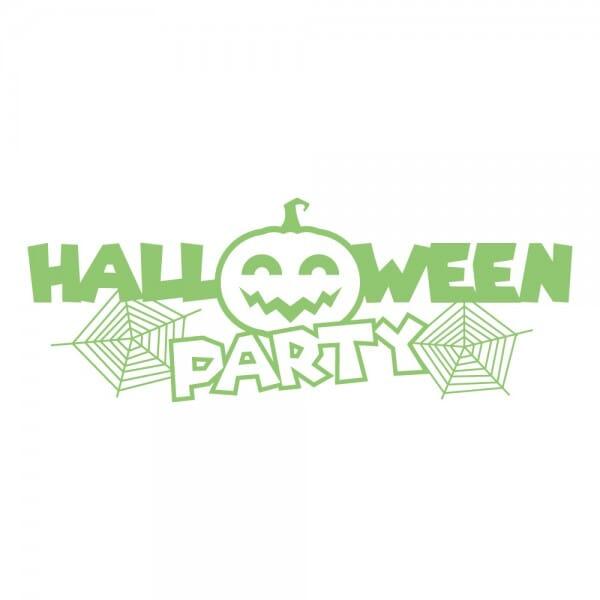HAPPY HALLOWEEN Printy 4912 - Halloween party - verde