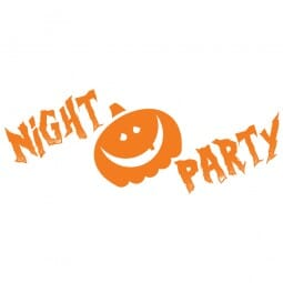HAPPY HALLOWEEN Printy 4912 - Night party - arancio